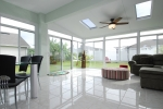 Straight Eave Solid Aluminum Roof Design